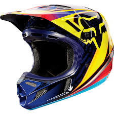 motocross fox gear fox racing v4 race orange motocross helmet casque enduro atv bmx