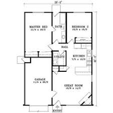 A 1 Story House 2 Bedroom Design New Panel Homes 20 By 30 Traditional Floor Plan Small Tiny