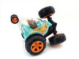scooby doo monster truck video amazon com remote control scooby doo cyclone tumbler rc stunt