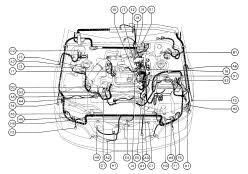 lexus gs300 parts diagram lexus gs300 wiring diagram cable harness routing 95