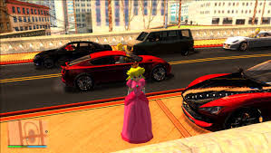 peach car gta sa princess peach v2 pingas gta mods