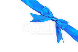 white and blue ribbon blue ribbon and bow isolated on white background stock photos