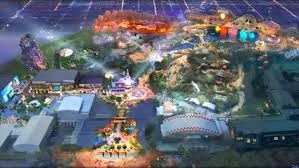 Florida Dca Map by California Adventure Animated Preview Map The Disney Blog