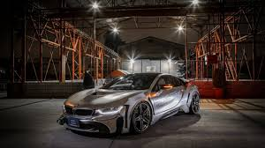 Bmw I8 Modified - great imagery with tuned bmw i8 looking like a ufo
