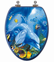 themed toilet seats topseat 3d series elongated toilet seat w chromed metal