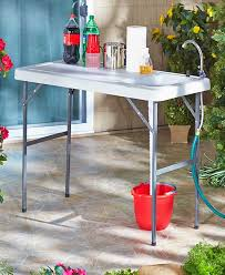 Folding Table With Sink Portable Sink Table Ltd Commodities