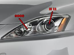 lexus rx330 lights daytime running light bulb clublexus lexus forum discussion