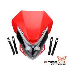 motocross bike accessories motocross motorcycle headlamp dirt bike led vision headlight