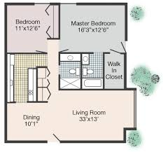 Large Master Bathroom Floor Plans Rates U0026 Floor Plans Jean Rivard Apts