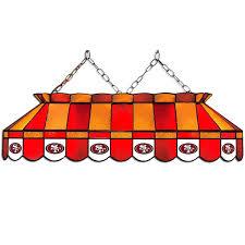 49ers pool table felt 8 nfl san fransisco 49ers team logo pool table gametablesonline com