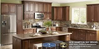 hampton cognac kitchen cabinets raised panel traditional