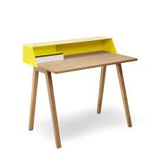 le de bureau jaune bureaux secrétaires bois et métal ps04 ps05 muller