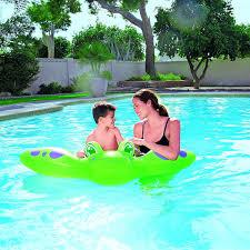 bestway manta ray ride on pool float multi colour amazon co uk