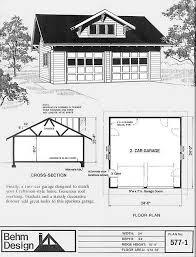 craftsman style garage plans dormer 2 car craftsman style garage plan 577 1 24 x 24 by behm