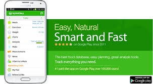 app android the best calorie counter and food diary app for android mynetdiary