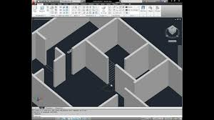 Home Design 3d Cad Software by Autocad 3d House Modeling Tutorial 1 3d Home Design Youtube