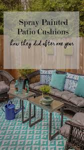 Spray Paint Wicker Patio Furniture - spray paint fixes everything diy patio furniture makeover