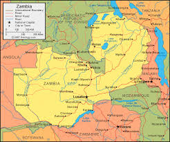 angola physical map zambia map and satellite image