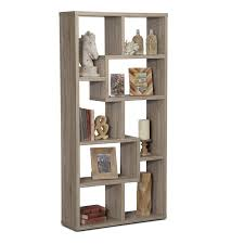 accent and occasional furniture obsidian bookcase taupe this
