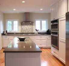 Kitchen Cabinets Northern Virginia Silestone Grey Expo Kitchen Traditional With Pre Finished Oak Floors