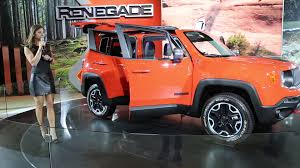 2016 Jeep Renegade Suv From New York International Auto Show Youtube