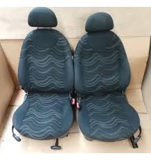 siege mini intérieur tissu sièges et banquette cloth aqua panther black