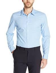 calvin klein men u0027s long sleeve cool tech non iron shirt at amazon