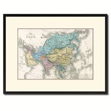 home decor gift items asia vintage antique map wall art home decor gift ideas canvas