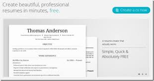 Online Resume Creator Free by My Resume Buildercv Free Jobs Screenshot Create Resume Cv Ease