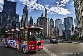 images bus chicago city usa street skyscrapers cities building