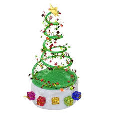 christmas tree hat green novelty christmas tree coil hat 6 42 online