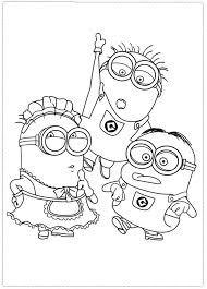 despicable me coloring pages to print 9620 bestofcoloring com