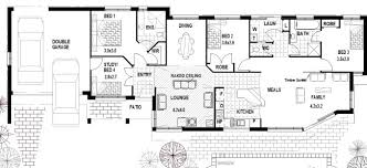 Narrow Lot Duplex Floor Plans by 4 Bedroom House Plans Australia Projects To Try Pinterest