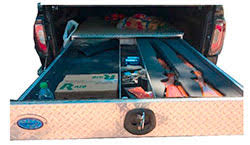 Slide Out Truck Bed Tool Boxes Pullout Bed Pack Tool Boxes Steel Aluminum Pickup Truck
