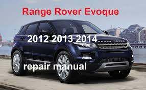 2012 range rover evoque repair manual 2013 2014 youtube