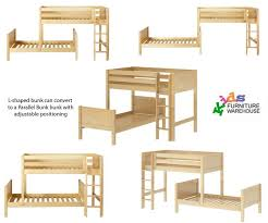 T Shaped Bunk Bed Fascinating Shaped Bunk Beds Low Shape Ceiling For Ikea Pic
