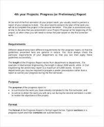 format of a progress report progress report templates 37 free
