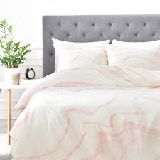 rebecca allen blush marble duvet cover free shipping today