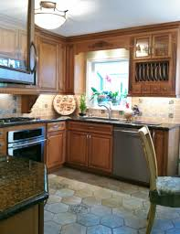 kitchen fresh ideas for kitchen christmas decorating above kitchen cabinets brown counter sets