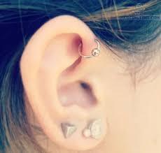 ear piercing hoop and hoop ring ear piercings