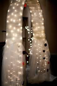 wedding arbor used ideas spectacular lighted wedding arch for fancy wedding