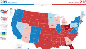 2016 Election Prediction Map by Welcome Back To Gotham City Election Night 2016