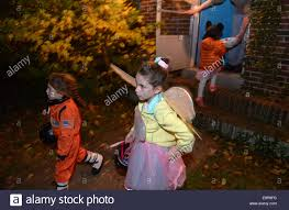 virginia usa 31st oct 2014 children play the trick or treat