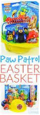 diy paw patrol easter basket for a toddler easter baskets paw