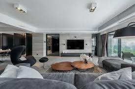 luxus wohnzimmer einrichtung modern wohnzimmer mit moderner einrichtung in weiß und taupe wohnzimmer