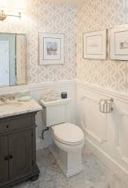 wallpaper bathroom designs the 25 best small bathroom wallpaper ideas on half