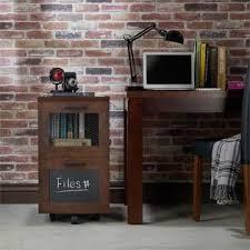 Vintage Industrial File Cabinet Furniture Of America Brynn Industrial Filing Cabinet In Vintage Walnut