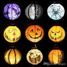 Halloween Decorations Pumpkins Led Halloween Decorations Pumpkins Light Lamp Paper Lantern