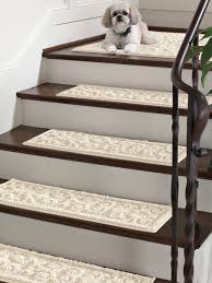 vista scroll stair treads set of 4 nonslip backing keeps these