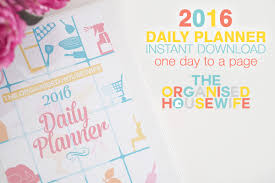 printable year planner 2015 au free printable 2016 monthly calendar with to do list the organised